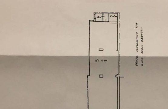 BOTTEGA 115 m², VIA DUCA DEGLI ABRUZZI